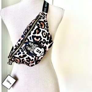 Disney Minnie Mouse Leopard Adjustable Fanny Pack